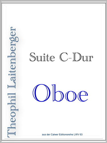 """Suite in C"" Stimme"