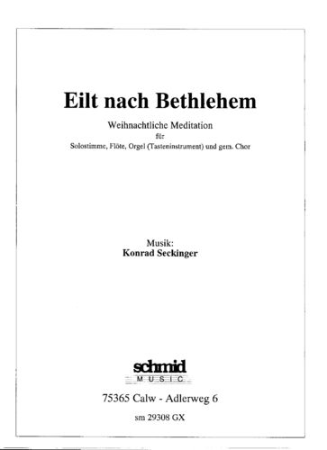 Eilt nach Bethlehem - Download